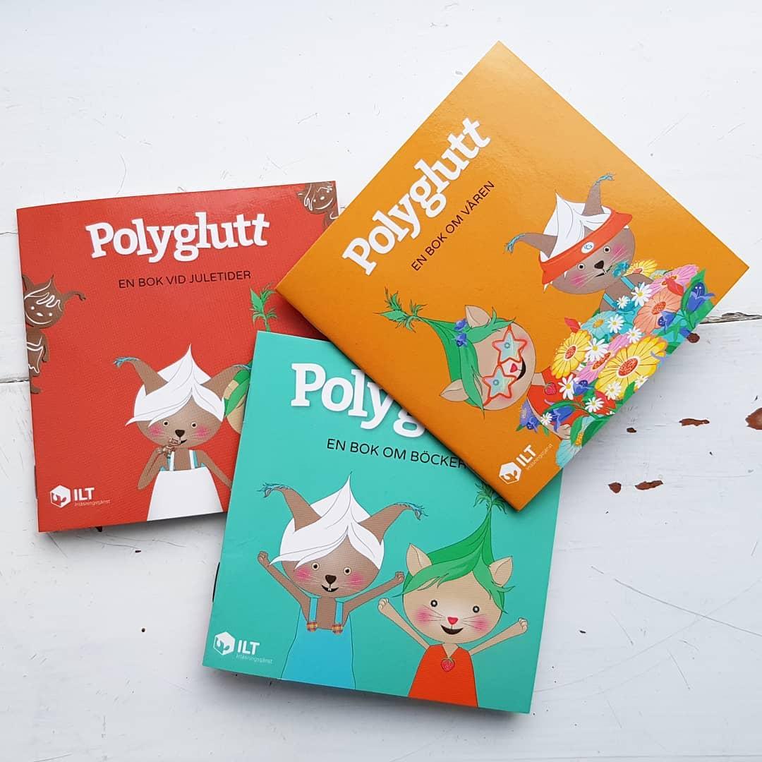 Polyglutt pixi böcker
