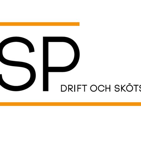 Logotype Dsp drift och skötsel