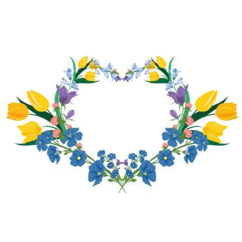 Floral kurbits pattern
