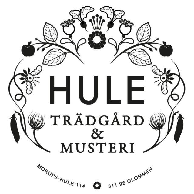 Hule Trädgård logotype