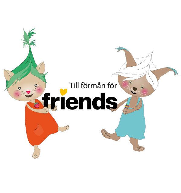 Polyglutt Friends advertising